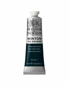 Winton oil 37 ml - phthalo deep green