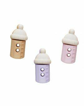 Babydecor baby bottles pink