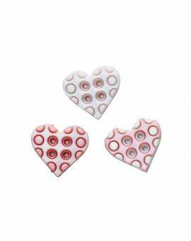 Baby decor hearts pink