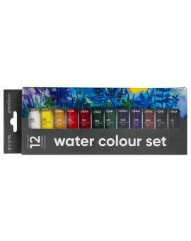 Panduro aquarelverf set 12x 12 ml