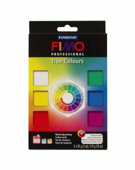 Fimo professional True colour 6x85 gram