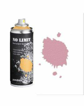 No limit spraypaint 200 ml - roze
