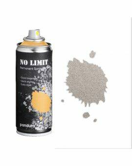 No limit spraypaint 200 ml - zilver