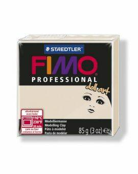 Fimo professional doll art- Beige
