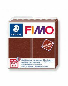 Fimo leather- Nut