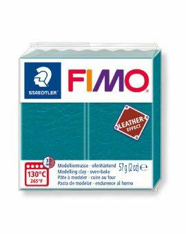 Fimo leather- Petrol
