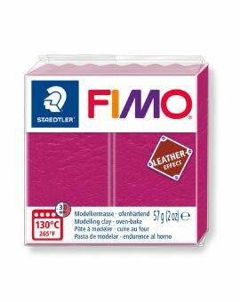 Fimo leather- Roze