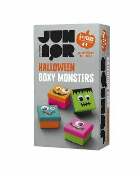 Boxy monsters set van 4