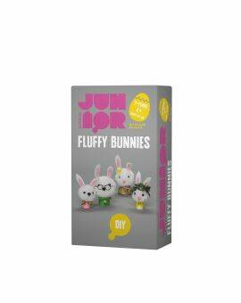 DIY set Fluffy bunnies