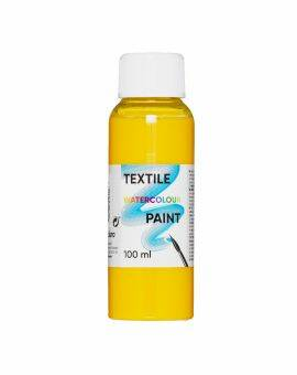 Textile watercolour paint - geel