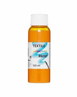 Textile watercolour paint - oranje