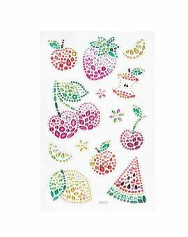 Crystal stickers - fruit