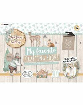 crafting book Christmas feeling