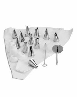 Decoratie tip set, 5-13 mm