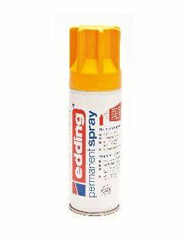 Edding 5200 permanent spray 200 ml- Zonnegeel mat