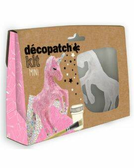 Decopatch Eenhoorn mini-kit