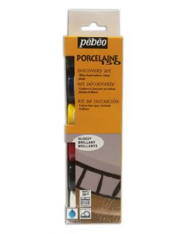 Porseleinverfset Basis 6x 20 ml