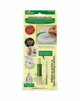 Clover punch borduur tool