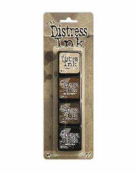 Tim Holtz distress mini ink kit 3