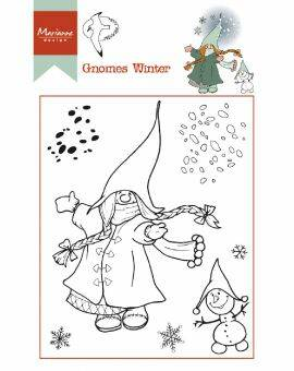 Clear Stamps Hetty's Gnomes winter