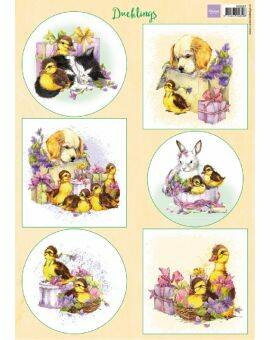 Decoupage Ducklings