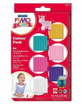 Fimo kids set- Blinkend roze