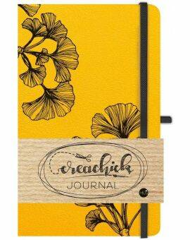 Creachick journal- Okergeel