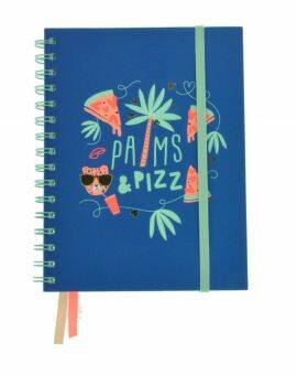 Collegeblok Palms & Pizza - A5