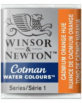 Cotman water half napje cadmium orange
