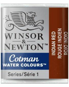 Cotman water half napje- Indian red