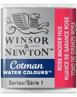 Cotman water half napje rose madder