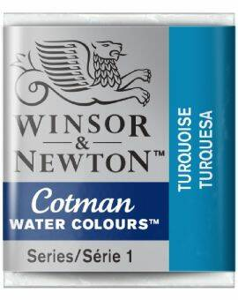 Cotman water half napje turquoise