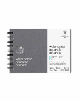 Aquarel journal spiraal 15 vel/ 300 gram