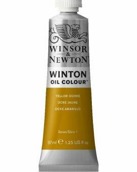 Winton oil 37 ml- Yellow ochre