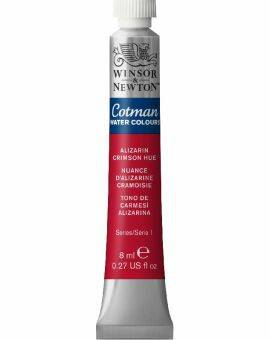 Cotman water 8 ml- Alizarin crimson