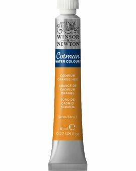 Cotman water 8 ml- Cadmium orange