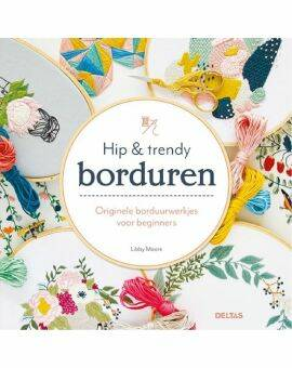 Boek hip en trendy borduren