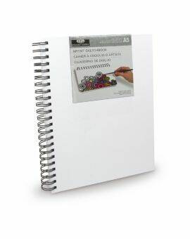Schetsboek met canvas cover A5