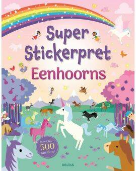 super stickerpret eenhoorns