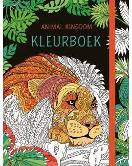 kleurboek animal kingdom