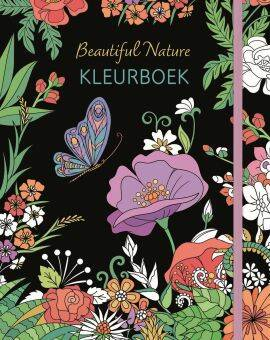 kleurboek beautiful nature