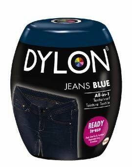 Dylon Textielverf blue jeans machine pods 350 gram