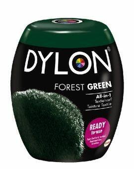 Dylon Textielverf forest green machine pods 350 gram
