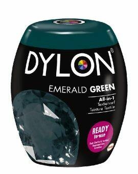 Dylon Textielverf emerald green machine pods 350 gram