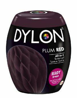 Dylon Textielverf plum red machine pods 350 gram