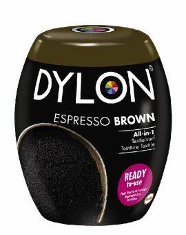 Dylon Textielverf espresso brown machine pods 350 gram