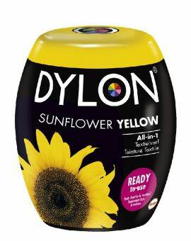 Dylon Textielverf yellow sunflower machine pods 350 gram